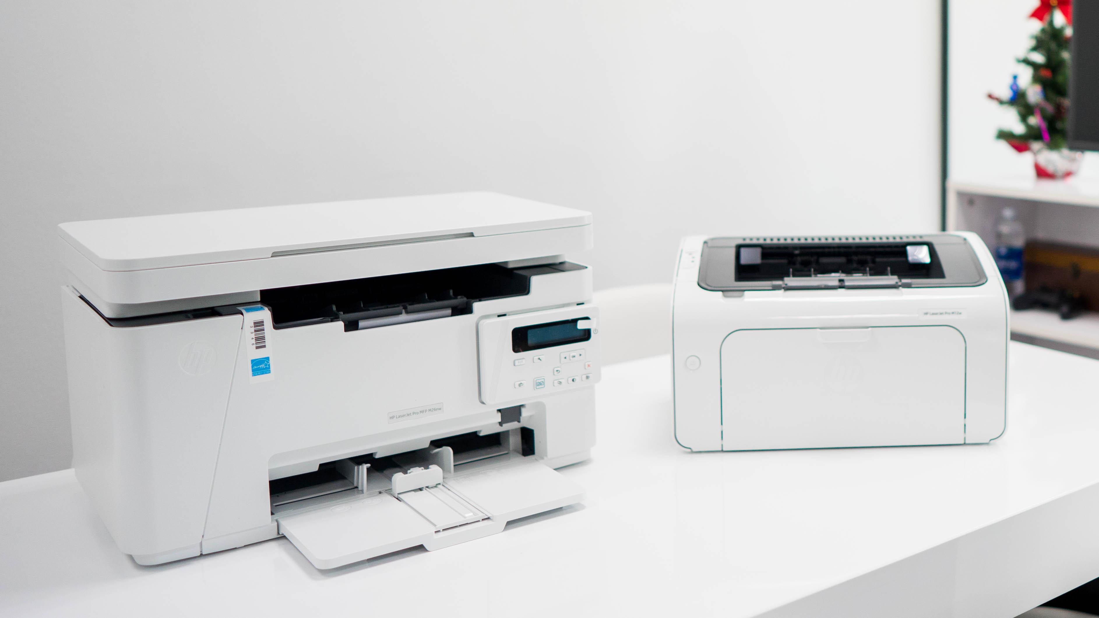 Bộ đôi máy in văn phòng giá vừa tầm siêu nhỏ gọn