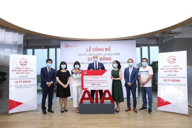 AIA Việt Nam triển khai gói ủng hộ với tổng giá trị lên đến 25 tỷ đồng cho đội ngũ y bác sỹ và nhân viên y tế tuyến đầu