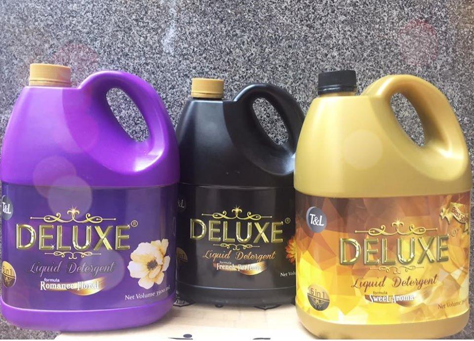 Siêu phẩm nước giặt xả T&L - DELUXE 6in1 - thương hiệu đến từ Thái Lan