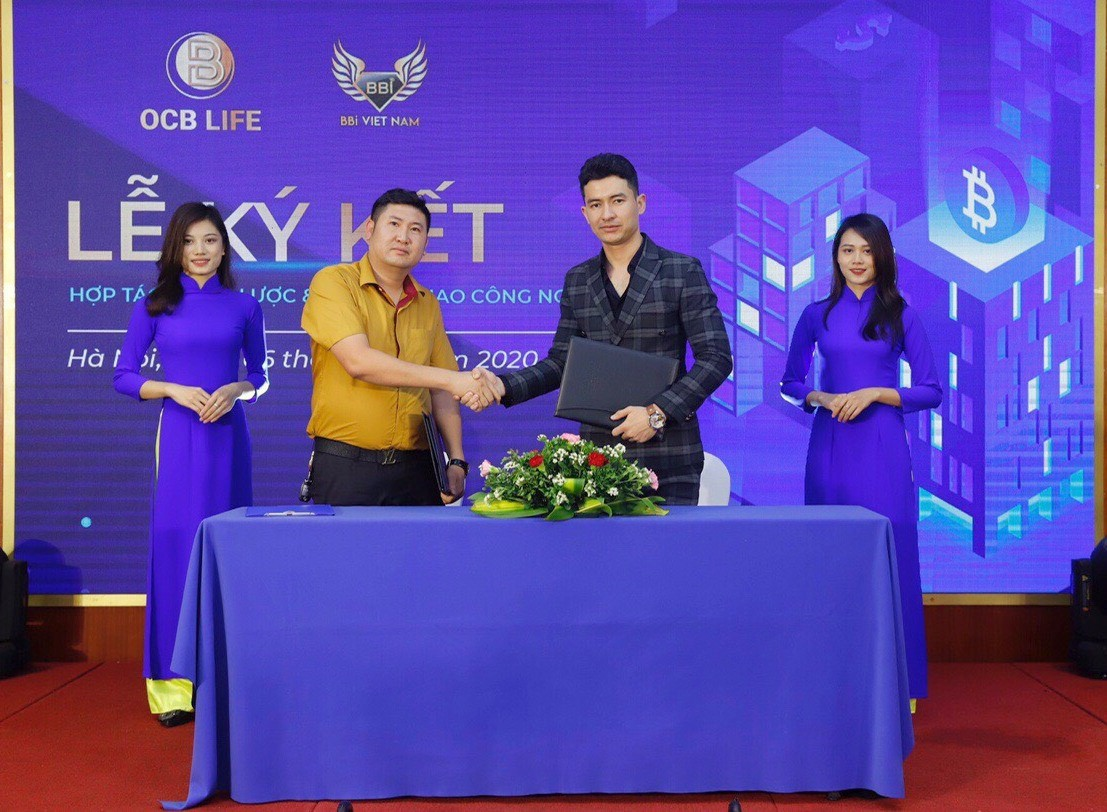Lễ ký kết hợp tác và chuyển giao công nghệ các sản phẩm công nghệ Fintech giữa OCB Life và BBI Việt Nam