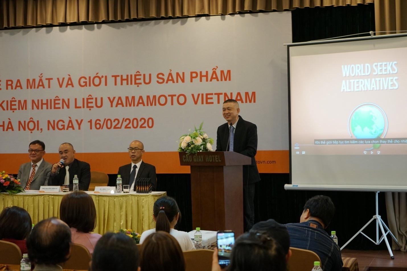 Lễ ra mắt và giới thiệu sản phẩm  Viên nén tối ưu hóa động cơ và tiết kiệm nhiên liệu Yamamoto tại Việt Nam
