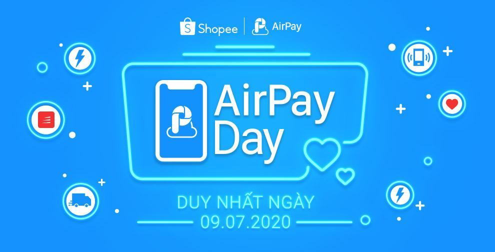 Giảm ngay 100K cho người dùng ví AirPay mua sắm trực tuyến, duy nhất lúc 0h01' ngày 09/07 tại Shopee!